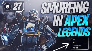 Becoming a Smurf in Apex Legends.. (The Smurf Experience)
