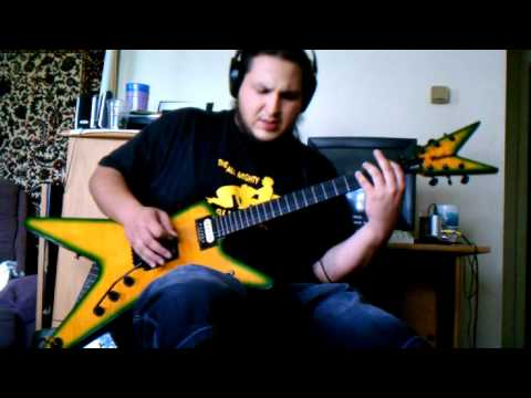 Pantera - Strength Beyond Strength - guitar cover - by ( Kenny Giron) kG