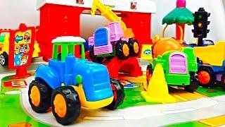 Tractores Infantiles - Carritos para Niños - Camiones Infantiles