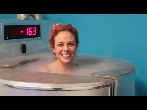 FREEZING OUR BODY FOR 3 MINUTES AT CRYOTHERAPY!