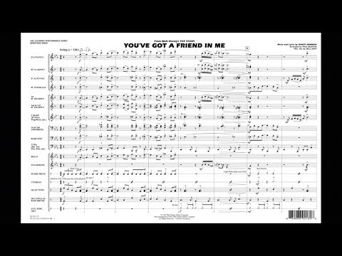 You've Got A Friend In Me By Randy Newman/arr. Paul Murtha