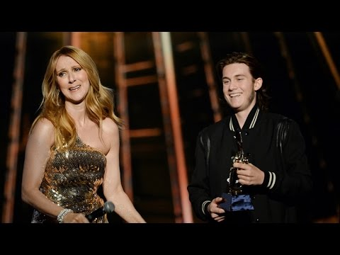 Celine Dion Delivers Tearful Speech After Son Rene-Charles Surprises Her On Stage