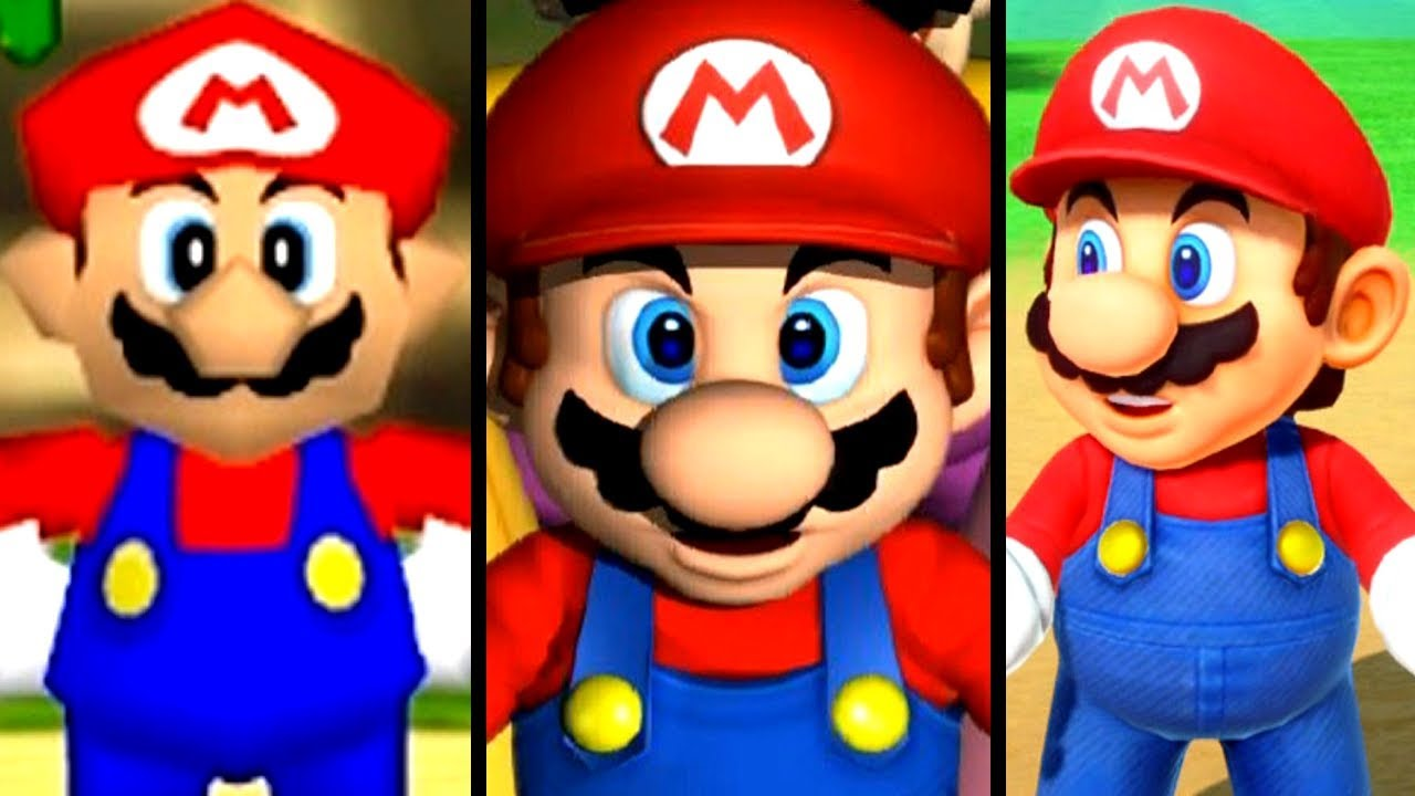 Super Mario Party Evolution of INTROS 1998-2018 (Switch to N64)