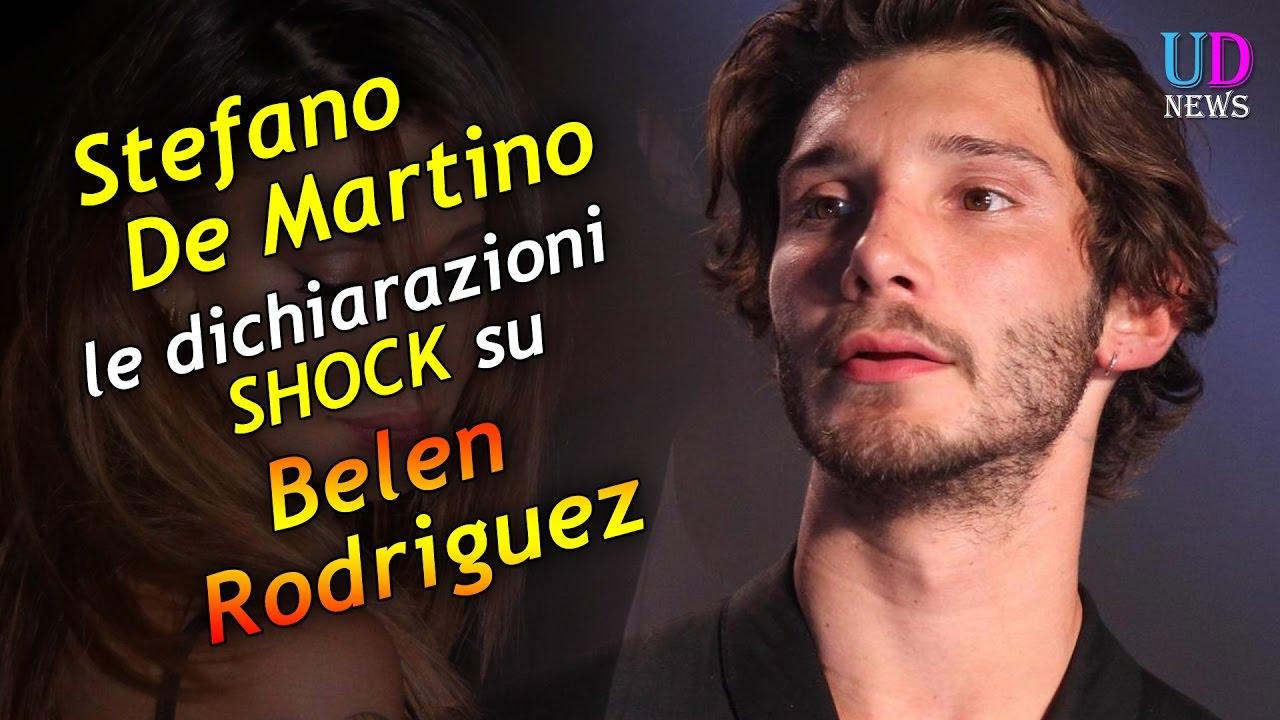 Stefano de martino e la dichiarazione shock sulla for De martino arredamenti scafati