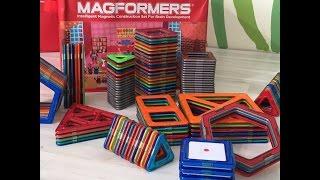 магформерс строим ракету и многое другое Магнитный конструктор Magformers