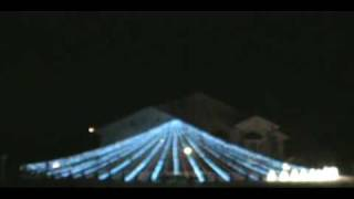 Do You Hear What I Hear by Spiraling Christmas Lights in La Salle Illinois 2009