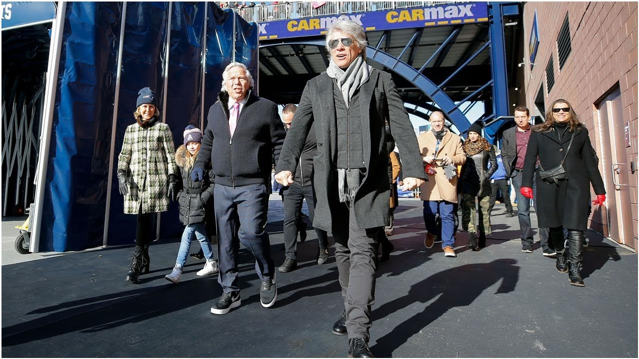 Bon Jovi helps seal New England Patriots win over Los Angeles Chargers in NFL ...