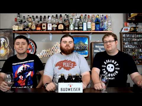 Budweiser Jim Beam Copper lager Review!