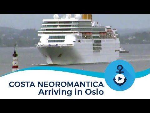 Costa neoRomantica arriving in Oslo