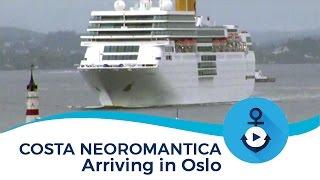 Costa neoRomantica arriva a Oslo
