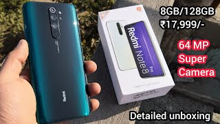 Redmi note 8 pro (Gamma Green 8GB/128GB)Unboxing & Review