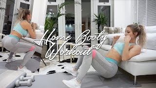 One of Robin Gallant's most viewed videos: Informative Home Glute Workout | BURN BOOTY BURN