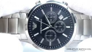 hands on with the men s emporio armani watch ar2434