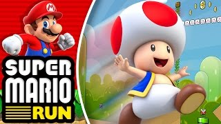 ¡Corre Toad, Corre! - Super Mario Run
