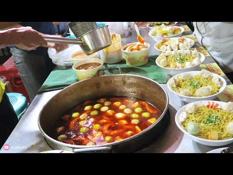 Chinese Street Food Tasted in Binondo, Manila | Chinese Noodles in the Philippines