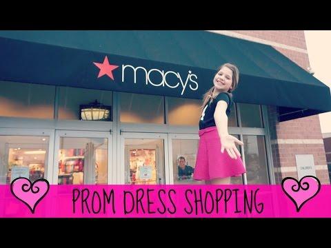 Tween Prom Dress Shopping | Macys v Dillards