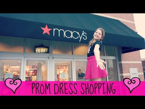 7c81355e0f Tween Prom Dress Shopping