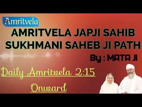 PLEASE SHARE -  AMRITVELA  SRI  SUKHMANI SAHEB JI PATH & KIRTAN  LIVE  - 18th OCTOBER , 2020