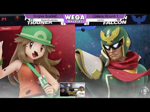 WU24 - LR1 - SpaceAustralia (Pokemon Trainer, Mewtwo) vs Carmo (Mario, Captain Falcon)