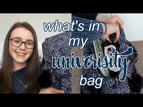 WHAT'S IN MY UNIVERSITY BAG // First Year Medic Edition thumbnail