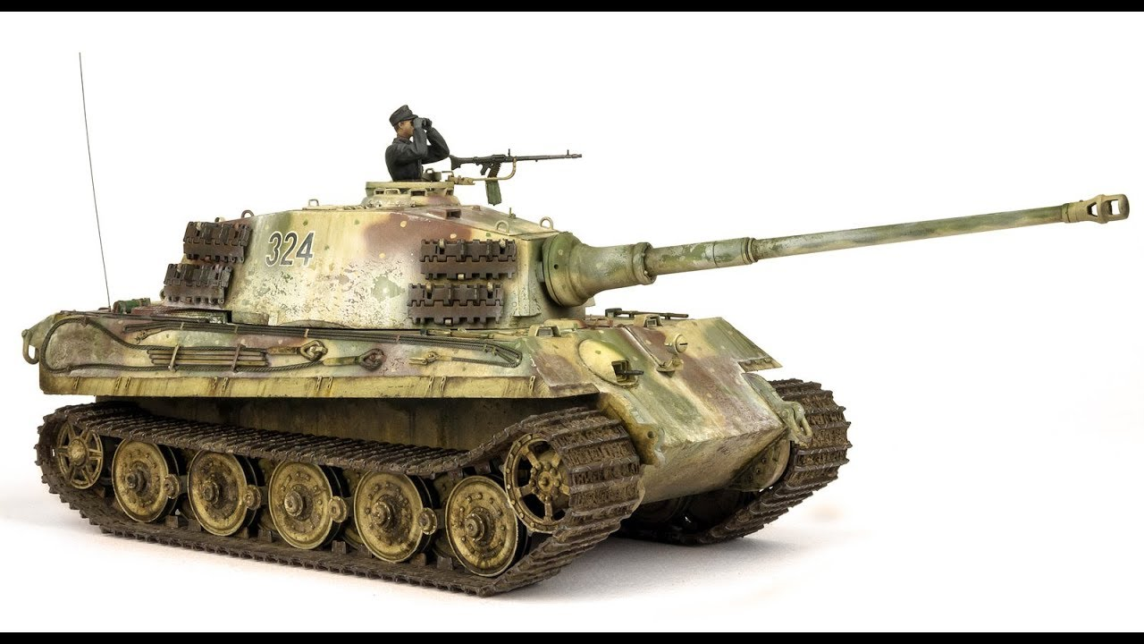 Buried King Tiger Tank Youtube