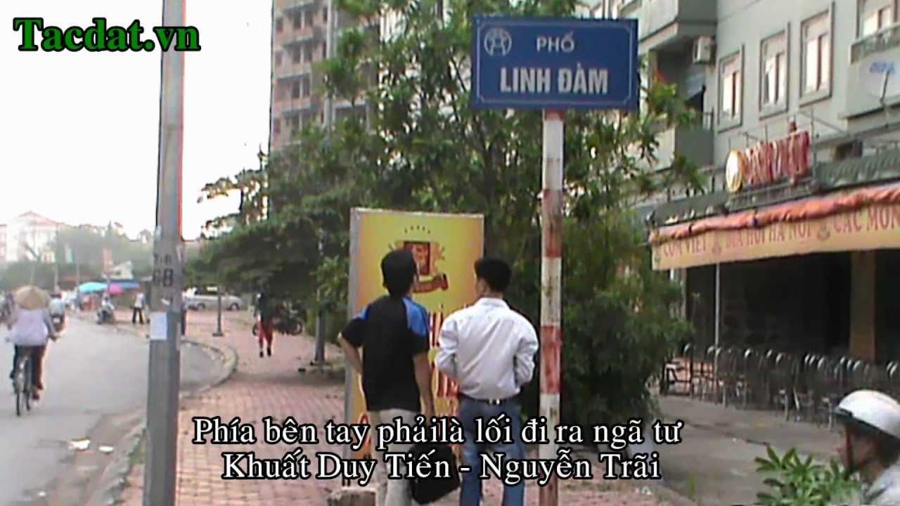 Bán chung cư CT2 KĐT Linh Đàm, Hoàng Mai – TACDAT.VN