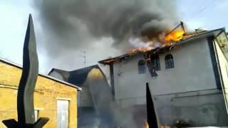 Пожежа у Молитовному будинку в Шепетівці