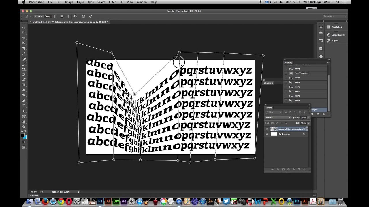 Create Colourful Distorted Text Effect in Photoshop - PSD ...