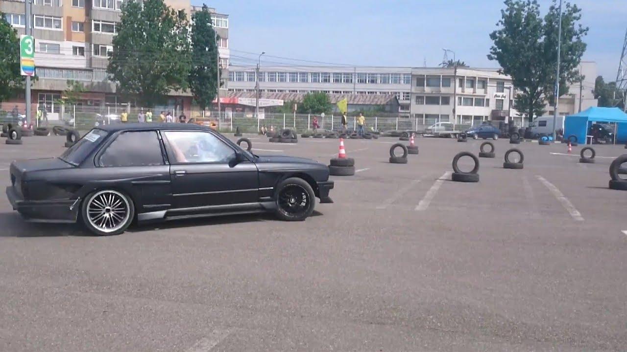 Bmw E30 V8 Drift Carrefour Felicia Iasi 2015 Youtube