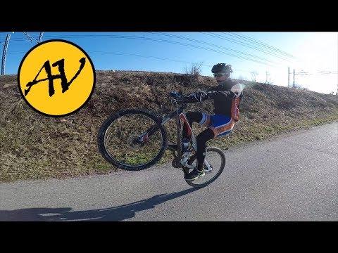 Gimbal Feiyu Thech G5 | Bike tricks