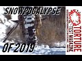 Apocalypse is here - Rare Southern Nevada Snow! CRF250X
