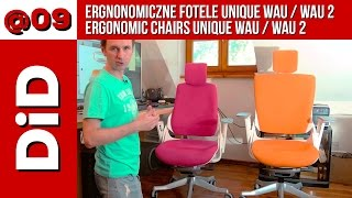 09 Ergonomiczne fotele Unique Wau Wau 2 Ergonomic chairs