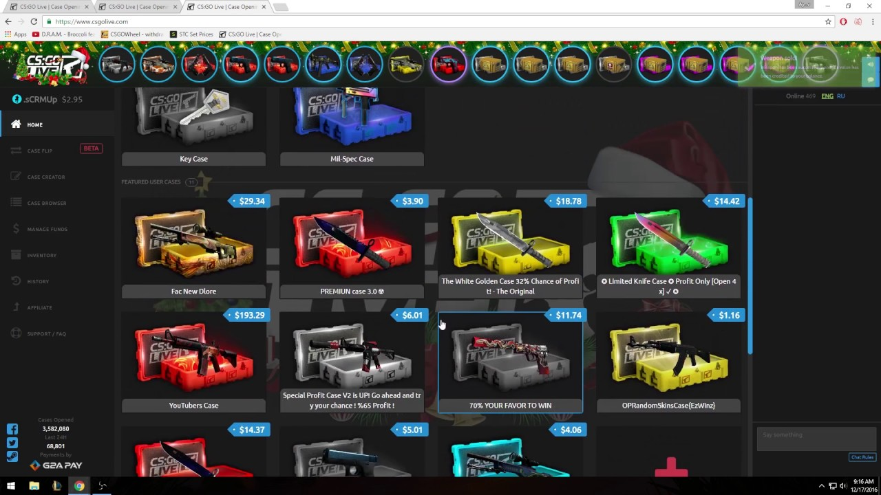 Csgo Gambling Simulator