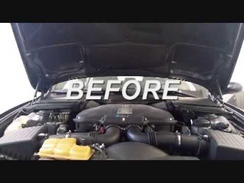 BMW M5 E39 vanos startup rattle fixed