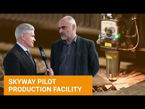 SkyWay Production Facility with Alexander Sinkevich: part 1