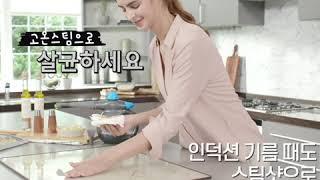 비쎌 스팀청소기 스팀샷.