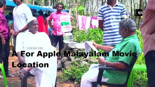 A For Apple Malayalam Movie Shooting Location