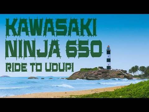2017 Kawasaki Ninja 650   Bangalore to Udupi ride