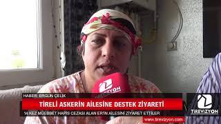 Müebbet ceza alan askerin ailesini ziyaret ettiler