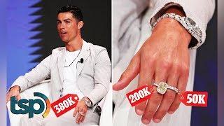 Beginilah Sekalinya Cristiano Ronaldo Pamer Perhiasan! Satu Tangan Aja Harganya Puluhan Miliar