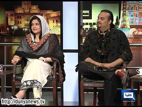 Mazaaq Raat - 28 April 2014   Amjad Sabri