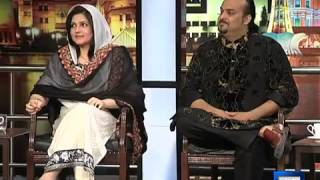 Mazaaq Raat - 28 April 2014 | Amjad Sabri