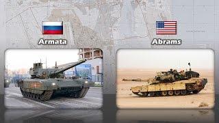 t 14 armata vs m1 abrams