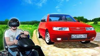 VR City Car Driving - ВАЗ 2112 ВАЛИТ 200км/ч по городу!!!