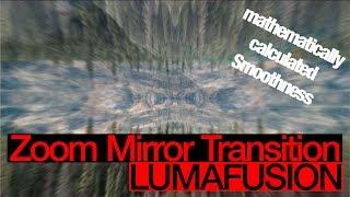 Erstellen Sie die WEICHSTEN Übergänge, Zoom-Spiegel Übergangs - LumaFusion Wie im Tutorial