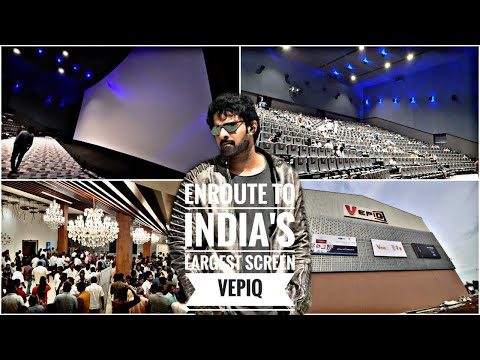 Prabhas Bahubali Theatre || Vepiq || India's Largest Screen || Sullurpet || Nellore District ||