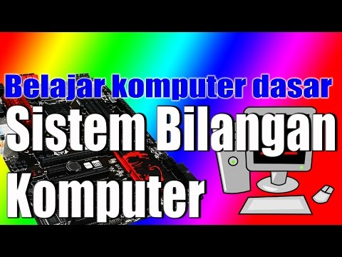 Belajar komputer dasar sistem bilangan komputer