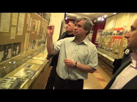 Николай Стариков в музее Ленина в Тампере