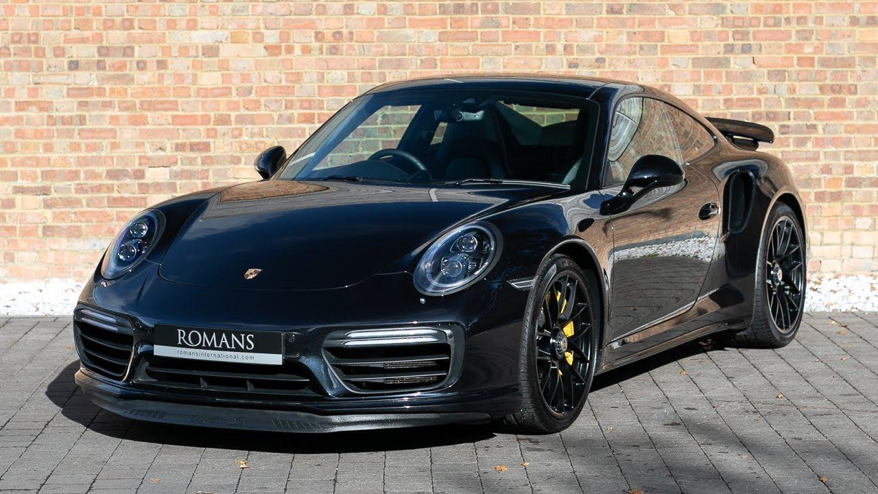 2016 Porsche 911 991 2 Turbo S Jet Black Walkaround Interior Loud Revs High Quality Youtube