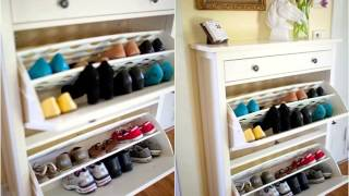 Entryway Benches With Shoe Storage - Entryway Shoe Storage